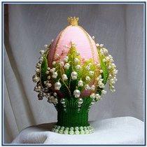 Бисерное яйцо (типа Фаберже)