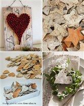 Поделки для украшения дома из природных материалов