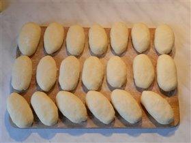 Пирожки перед жаркой