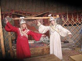 Русские девушки в Монголии