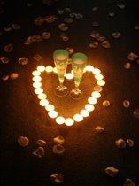 Огонечки-свечечки..