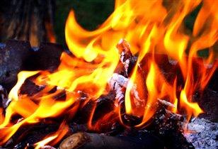 На огонь можно смотреть бесконечно...