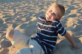 В песочных волнах