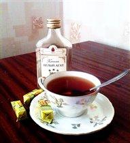 Чай с коньяком)