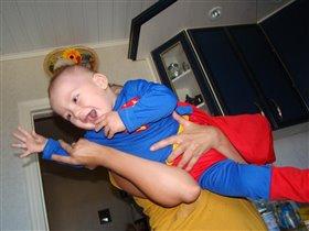 Супермен в полете