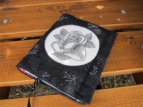 Роза blackwork из Cross stitch