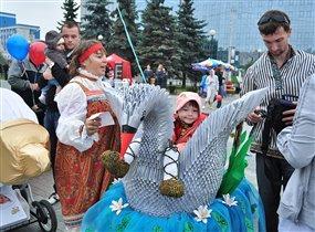 Победитель парада колясок2011