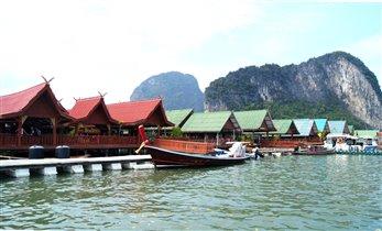 Жизнь у воды - рыбацкая деревня на сваях