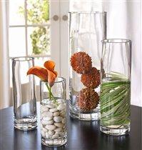 Композиции в стеклянных вазах своими руками