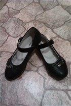 Туфли черные д/д