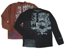 пристрой черной футболки 140-146