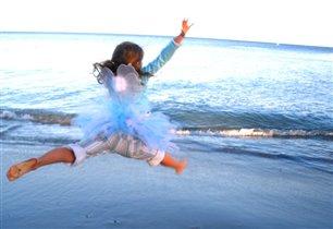 Морская фея в полете
