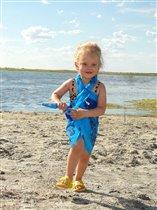 Солнце, воздух и вода - для Тюши лучшие друзья :)