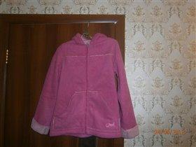 Куртка  двойная флисовая р-р 42-44