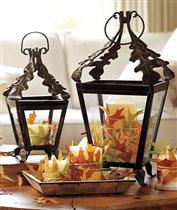 Осенний декор в оформлении интерьера