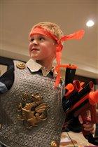 Мой внук Александр- настоящий воин.