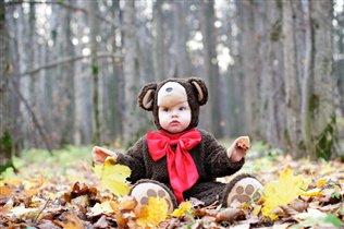 Модная осень в лесу...