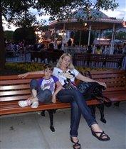 Мы с Машкой в Диснейленде. Гонконг. 2012