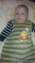 Давидик в 4 месяца)
