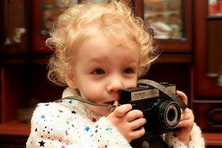 Ты сними, сними, меня, фотограф