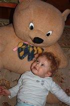 Арсений и мишка из маминого детства