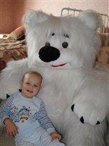в объятиях белого медведя