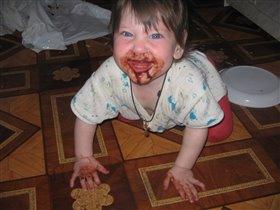 мой первый шоколад!