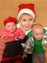 Двойняшки - лучший подарочек нашей семье:))
