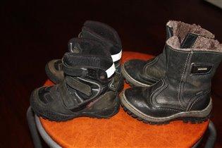 Ботинки р-р 25-26