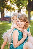 я и моя любимая доченька!
