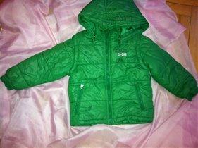 Куртка трансформер DKNY оригинал (3года)