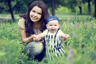 Мама с Счастьем:)