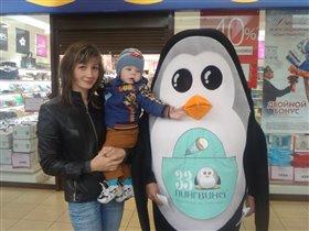 Встречаем Пингвина из Мадагаскара!