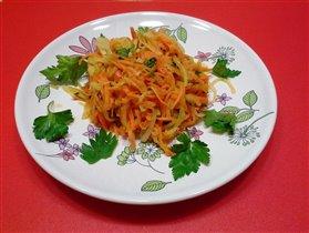 салат из редьки по-узбекски