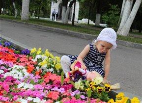 Нюхаем цветочки