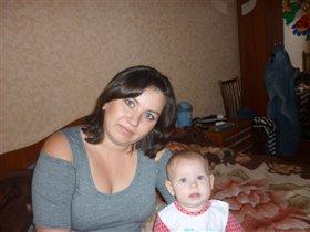 с доченькой Ксенией