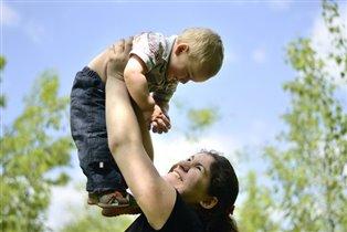 Материнское счастье!