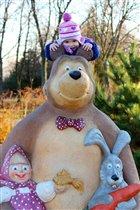Маша и медведь!!!...наш любимый мультсериал...