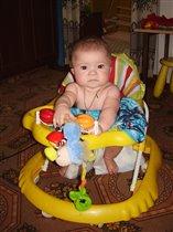 Анечка-6 месяцев