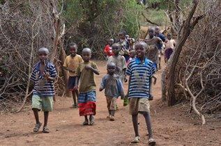 масайские дети