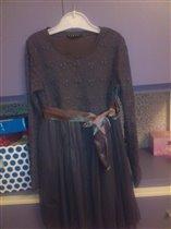 Платье Sisley 7-8 лет (до 128 см), 1000 руб.