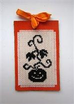 Хэллоуинская закладка от Наташи-Паучишко
