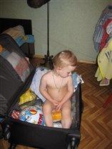Чемодан большой в пристрой:)