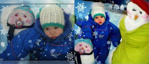 Глебушка и снеговики