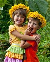 Маленькие дружилки)))
