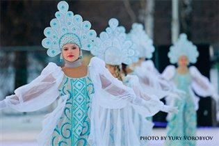 Зимний праздник в Лужниках