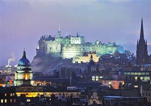 Рождественский Эдинбург 2013: праздничный базар и фестиваль Edinburgh's Christmas