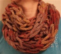 Уютный чудо  шарфик