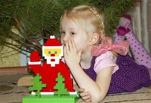 Дед Мороз ёлочку принёс!