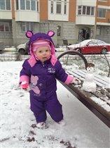 Ювелирная работа - наш мАААленький снеговичок!